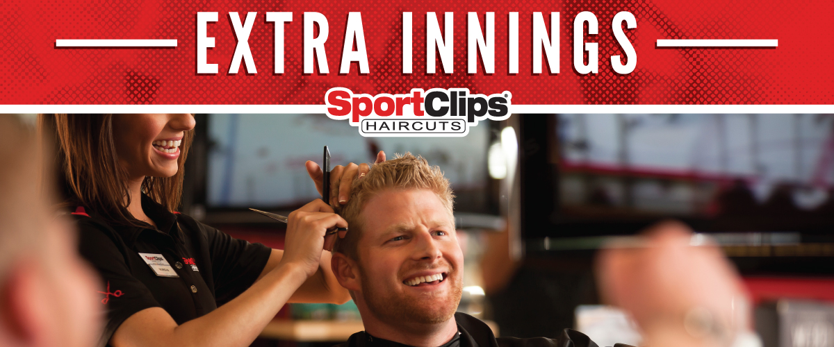 The Sport Clips Haircuts of South Lebanon  Extra Innings Offerings